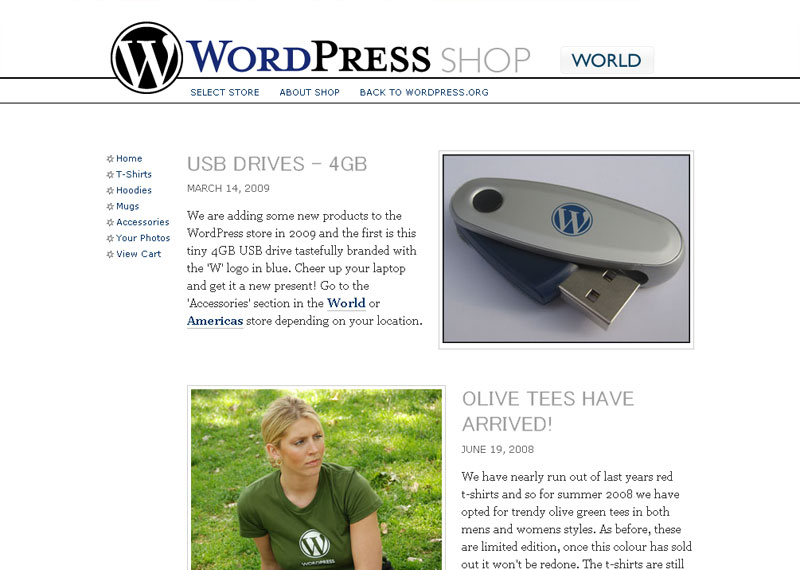 wordpress-store