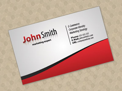 Free business card psd tutorial glocard andysowards com daily
